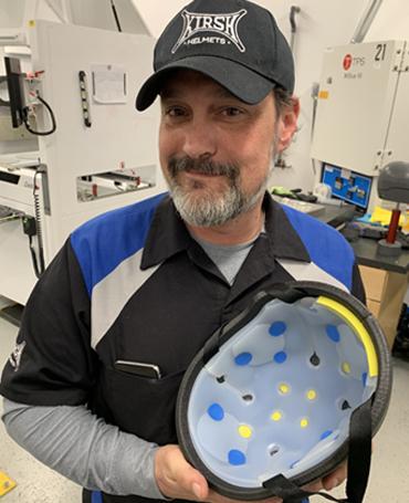 Jason Kirshon KIRSH Motorcycle Helmet Inventor