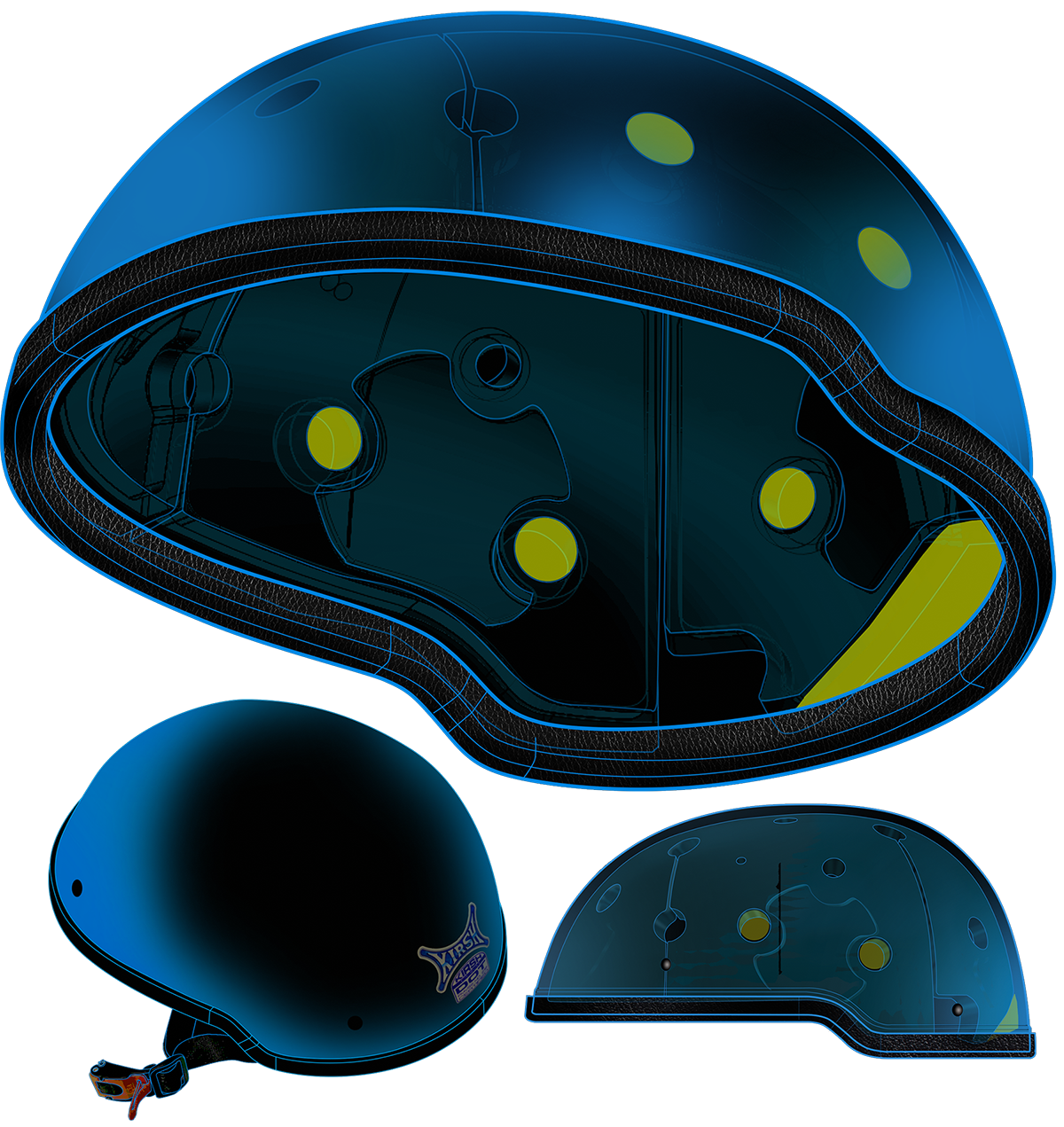 KIRSH Motorcycle HELMET TECHNOLOGY