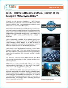 KIRSH Motorcycle Helmets CIVISION070918