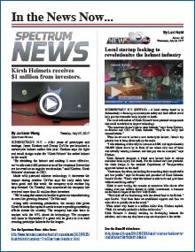 Motrocycle Helmet KIRSH LOCAL NEWS