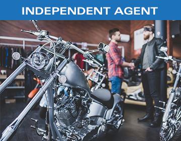 KIRSH Motorcycle Helmets Independent Agent