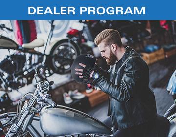 KIRSH Motorcycle Helmets Dealer Programs