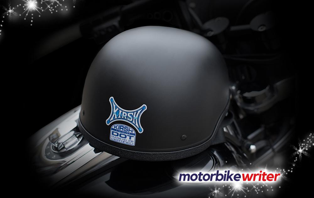 The KIRSH CHM-1 Matte Black Helmet